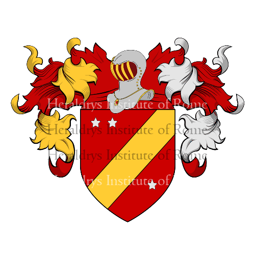 Coat of Arms of family Traversagna