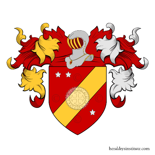 Coat of Arms of family Traversagno