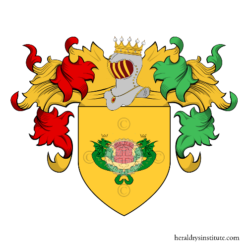Coat of Arms of family Pozzio