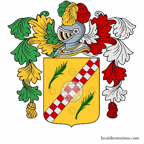 Coat of arms of family Lorenzini