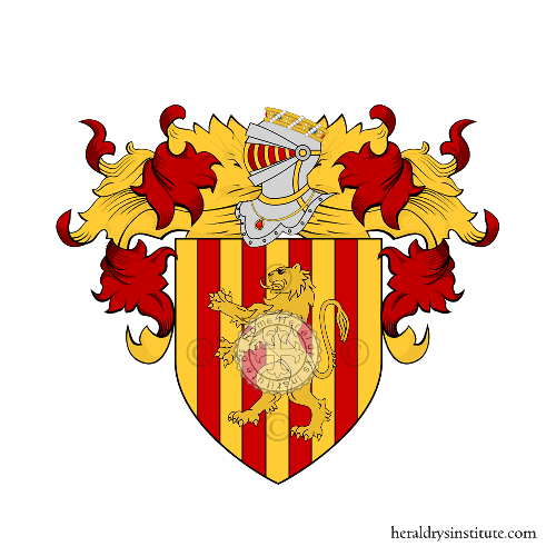 Coat of Arms of family aloisio