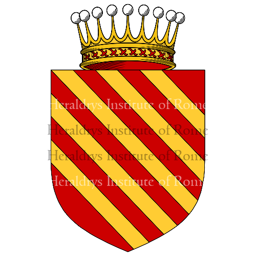 Coat of Arms of family Mistoni