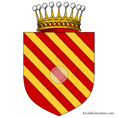 Coat of Arms of family Tistoni