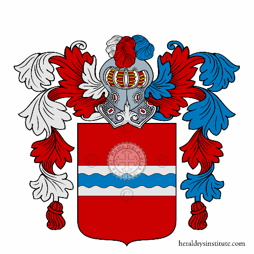 Coat of Arms of family Marin