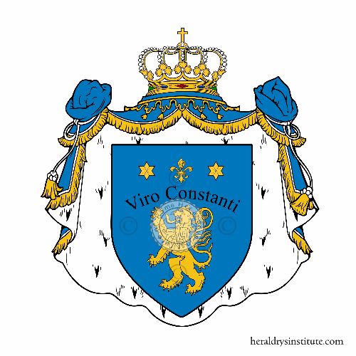 Coat of Arms of family Napoliano