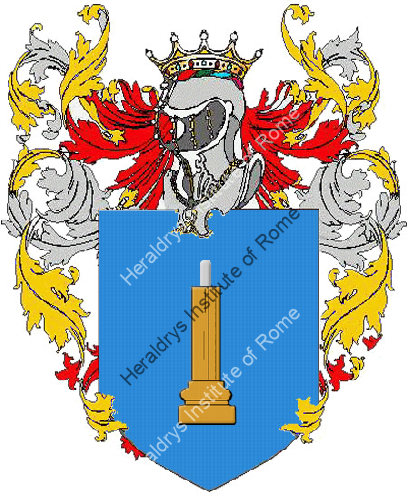 Coat of Arms of family Miravalle