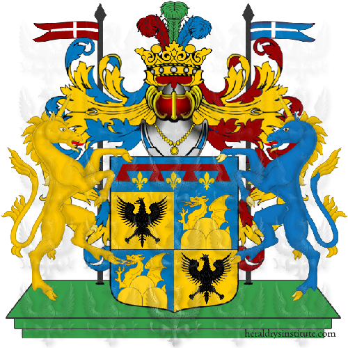 Coat of Arms of family Serrabini