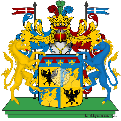 Coat of Arms of family Serrasio