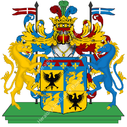 Coat of Arms of family Serratore