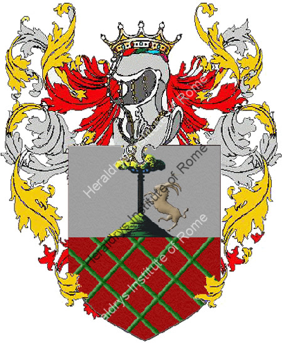 Coat of Arms of family Piazzini