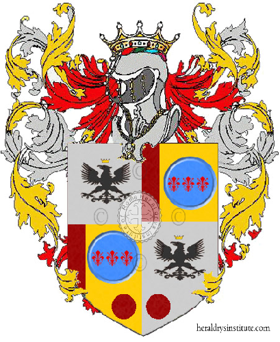 Coat of Arms of family Vallecillo