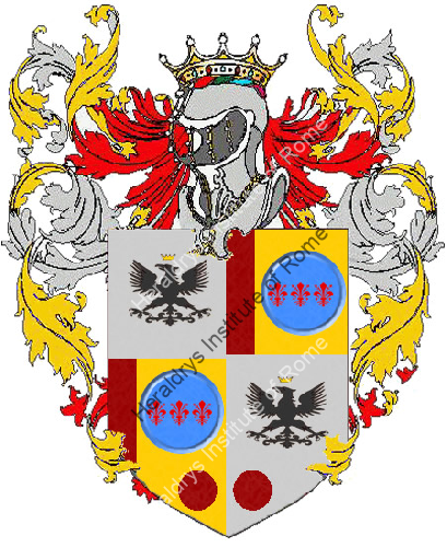 Coat of Arms of family Vallecrosa