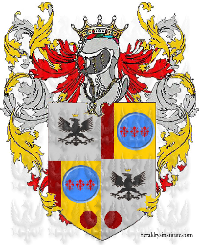 Coat of Arms of family Vallezza