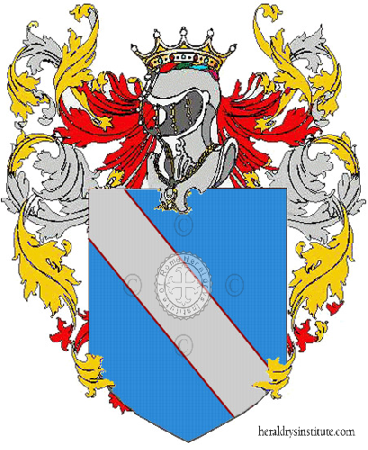 Coat of arms of family Gergati