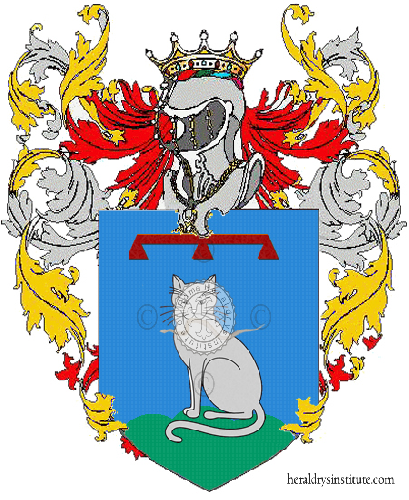 Coat of Arms of family Rattini