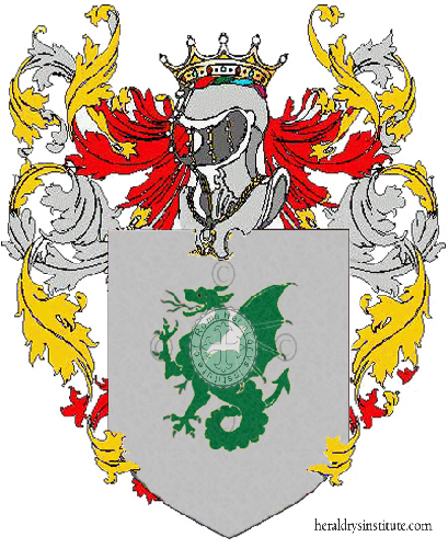 Coat of arms of family Eguelfi