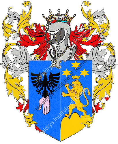 Coat of Arms of family Pote