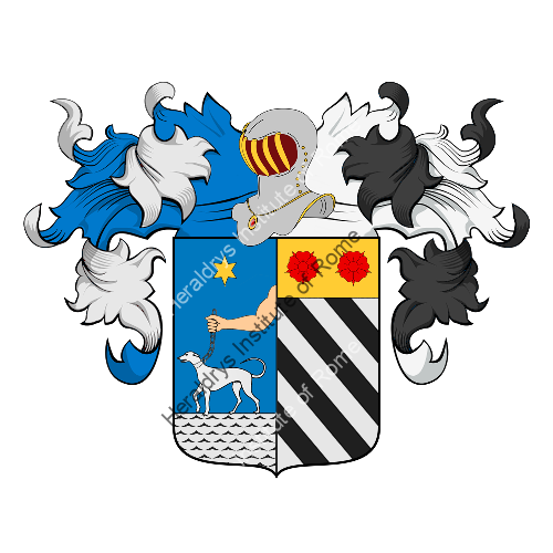 Coat of Arms of family Cacace