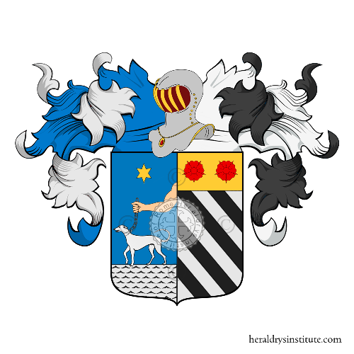 Coat of Arms of family Sacace