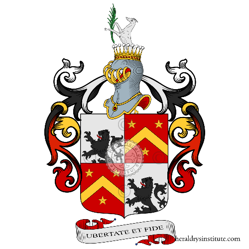 Coat of arms of family Bricca