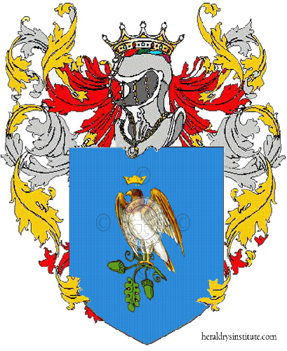 Coat of Arms of family Trojaniello
