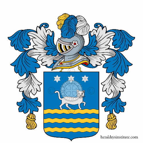 Coat of Arms of family Gatto