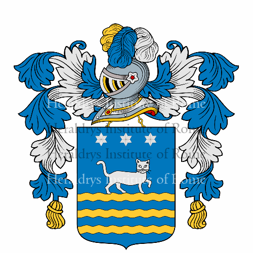 Coat of Arms of family Gattuso