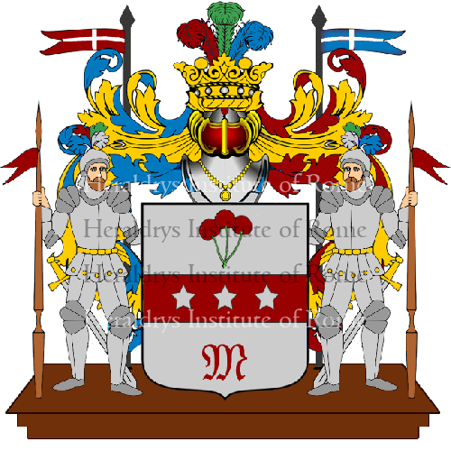 Coat of Arms of family Sangirardi