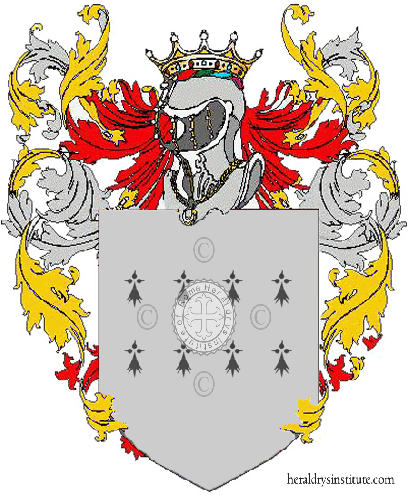 Coat of Arms of family Lilaj