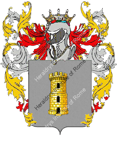 Coat of Arms of family Anticaglia