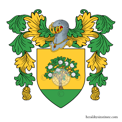 Coat of Arms of family Ponassi