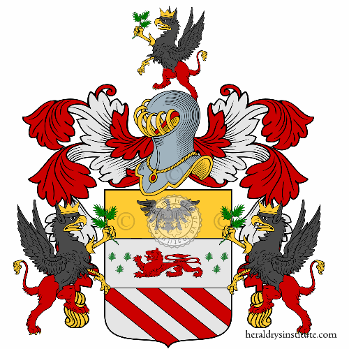 Coat of Arms of family Ruscone