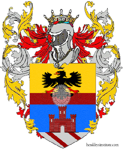Coat of Arms of family Santesi