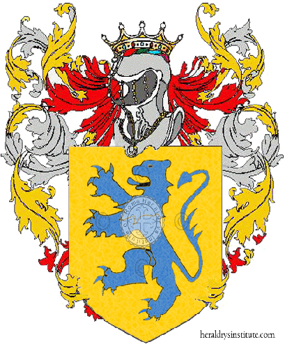Coat of Arms of family Sacquaviva