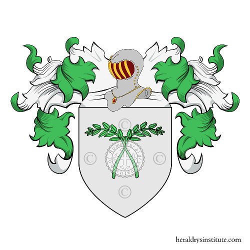 Coat of Arms of family Giustini