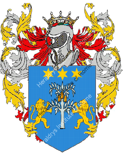 Coat of Arms of family Pirocca