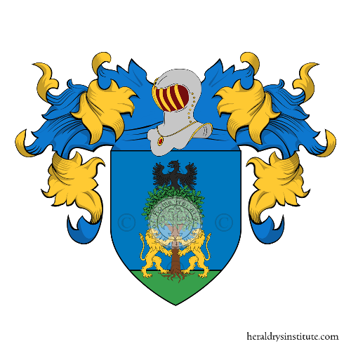 Coat of Arms of family Tenco