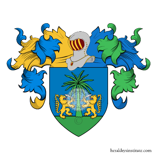 Coat of Arms of family Tatoli