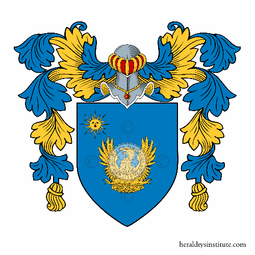 Coat of arms of family Arditi
