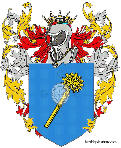 Coat of Arms of family Nastase