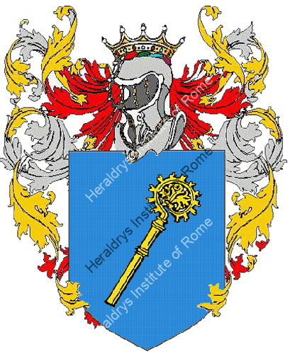 Coat of Arms of family Pastasi