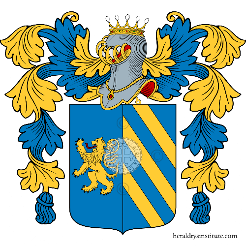 Coat of Arms of family Pagliate