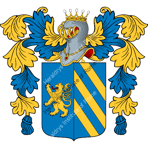 Coat of Arms of family Pagliazzotti