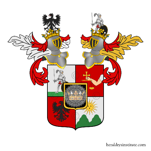 Coat of arms of family Manfroni