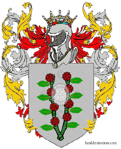 Coat of Arms of family Meitre