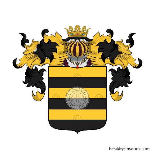 Coat of Arms of family Seva