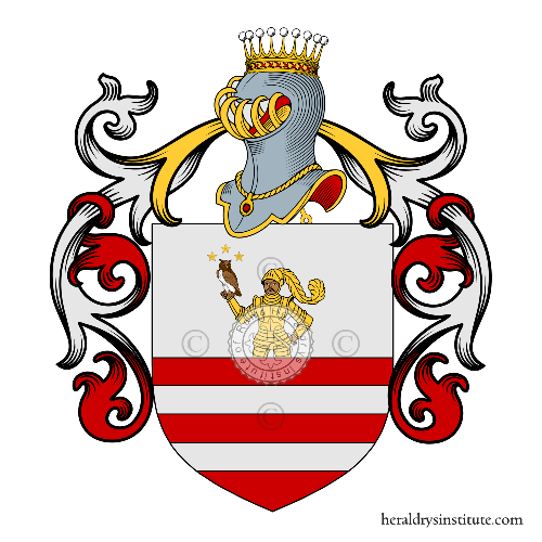 Coat of Arms of family Moresca