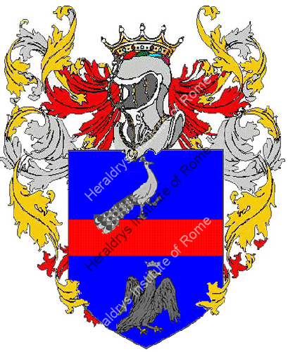 Coat of Arms of family Pavino