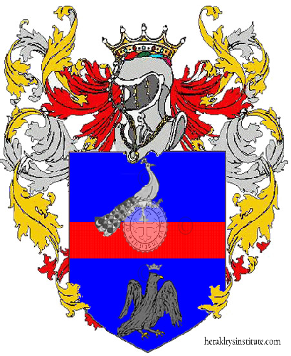 Coat of arms of family Pavinato