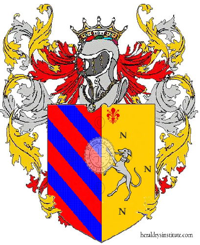 Coat of Arms of family Carabello'
